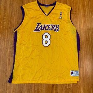 Vintage Kobe Bryant Lakers Champion Jersey